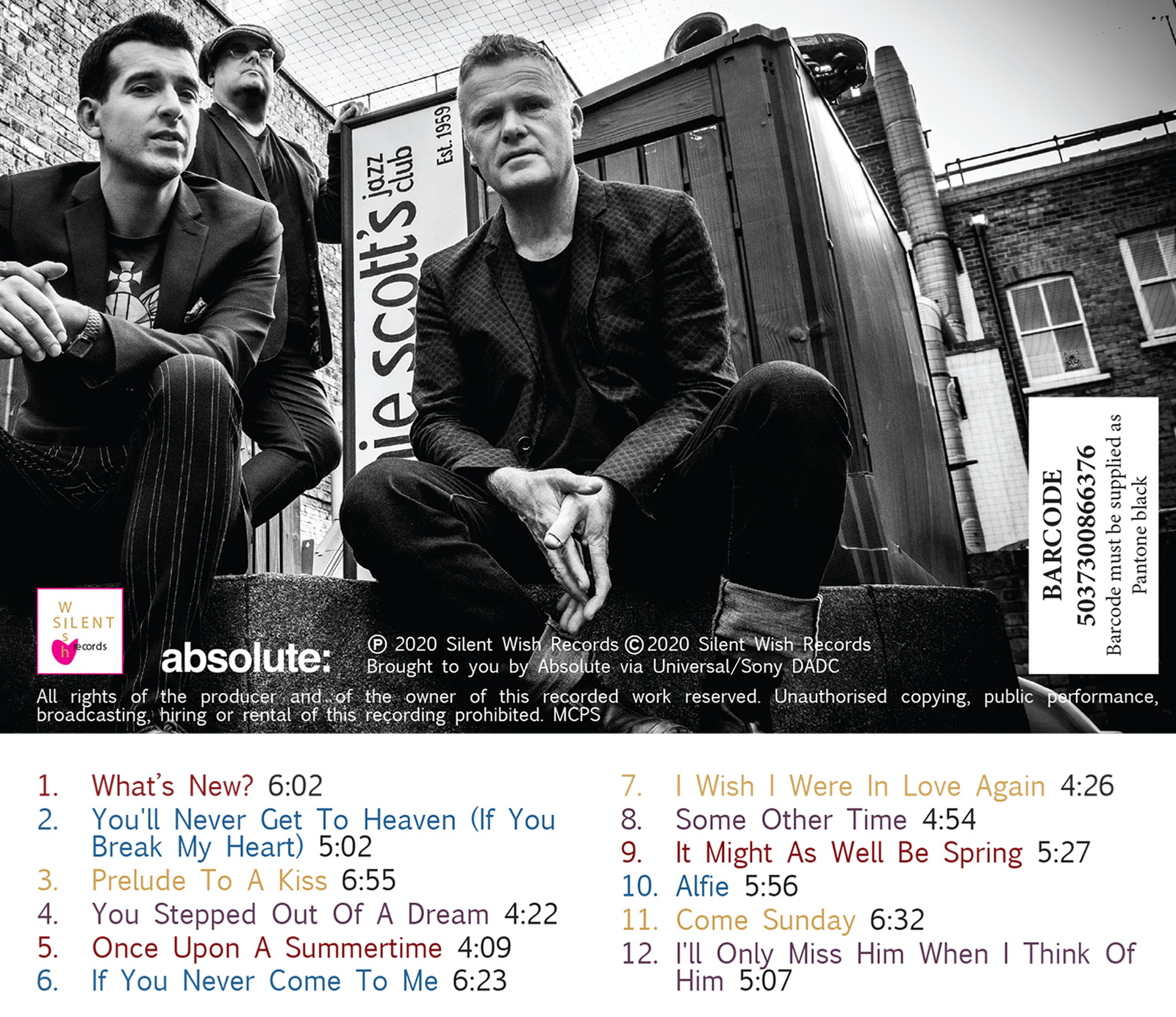 What's New - back cover